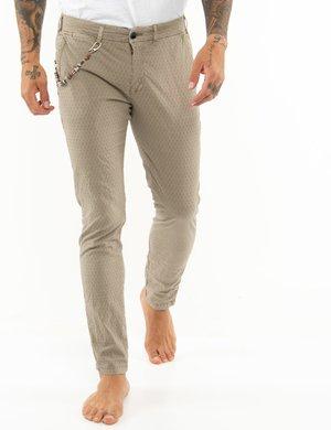 Pantalone Yes Zee tessuto lavorato