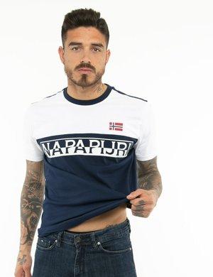 T-shirt Napapijri bicolor
