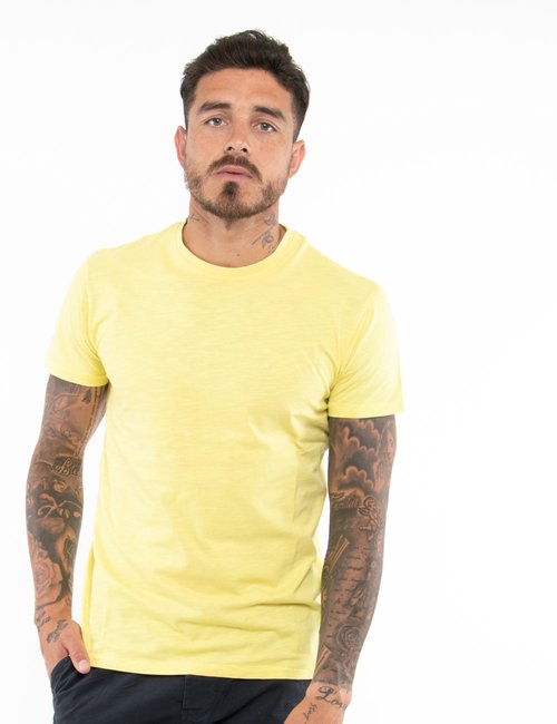 T-shirt Yes  Zee in cotone - Giallo