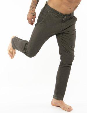 Pantalone Asquani con impunture