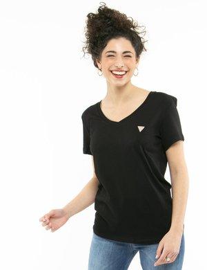 T-shirt Guess con logo a lato