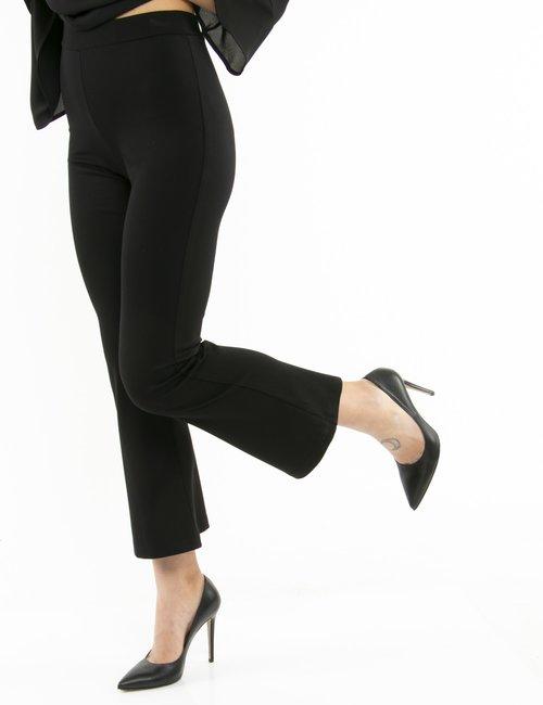 Pantalone Vougue elasticizzato - Nero