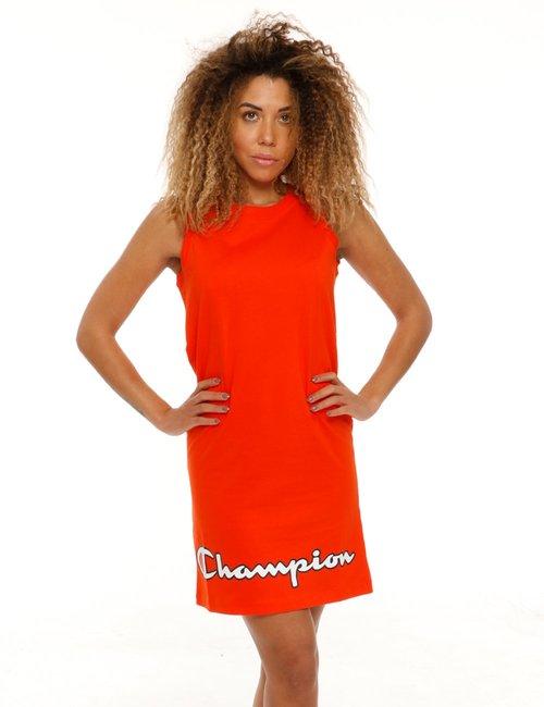 Vestito Campion in cotone - Arancione