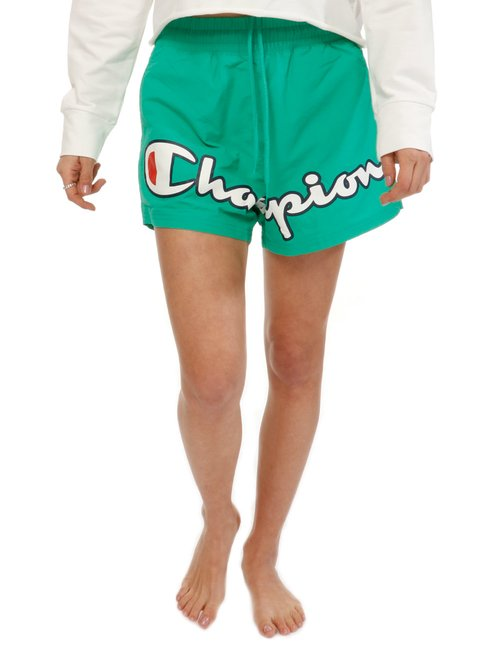 Short Champion con logo - Verde