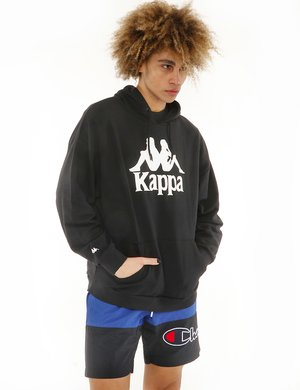 Felpa Kappa con logo stampato