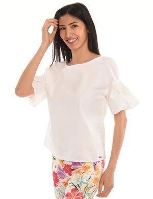 Camicia Armani Exchange con manica arricciata volant