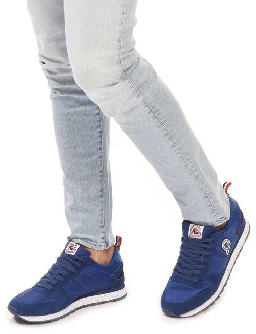 Sneaker Invicta con logo - Blu