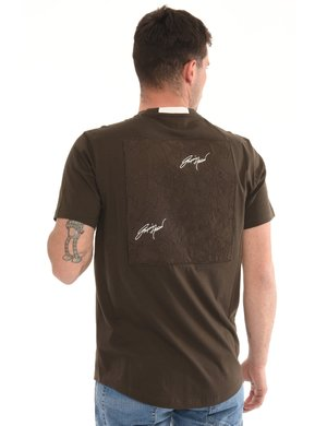 T-shirt Emporio Armani con applicazione posteriore
