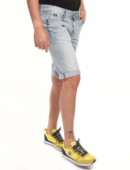 Bermuda Gas in denim - Jeans