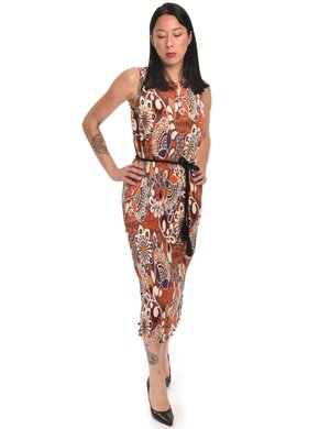 Vestito Manila Grace plissettato