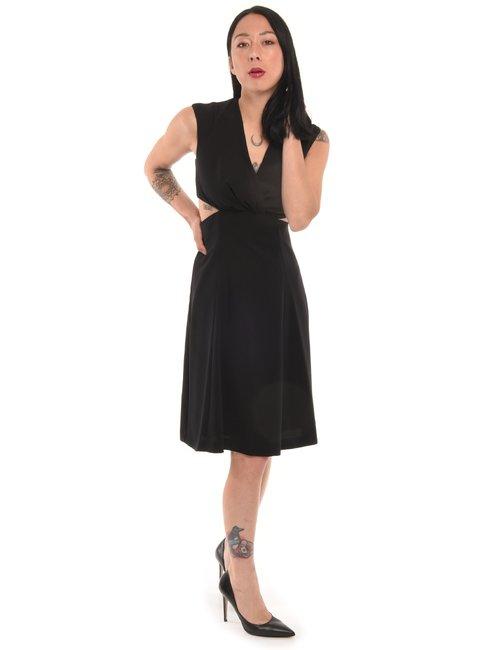 Vestito Manila Grace con aperture laterali - Nero