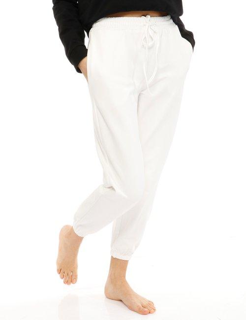 Pantalone Vougue in cotone - Bianco