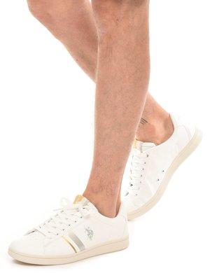 Sneaker U.S. Polo Assn. con logo stampato