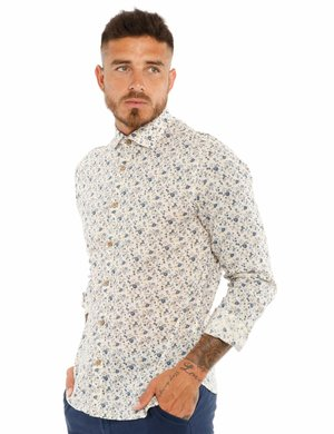 Camicia Yes Zee in tessuto naturale