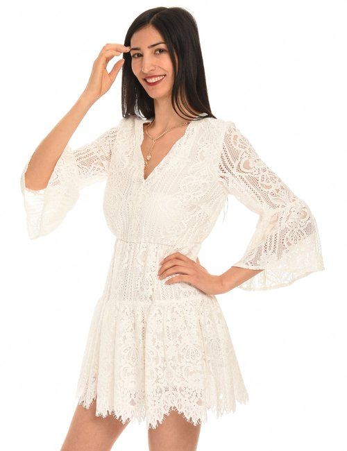 Vestito Liu Jo in pizzo - Bianco