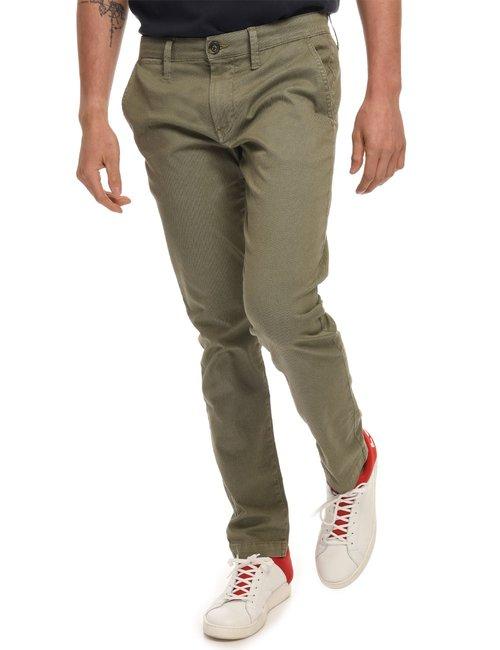 Pantalone Pepe Jeans microfantasia - Verde