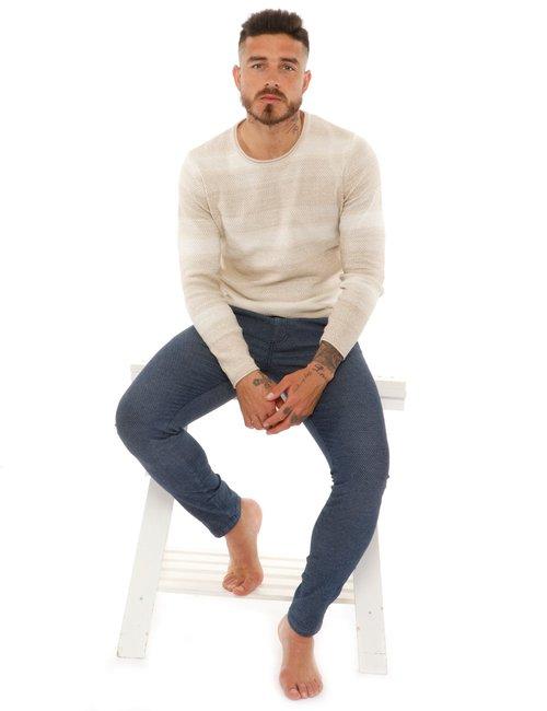 Pantalone Fred Mello in cotone - Blu