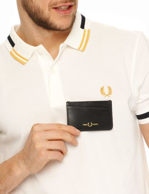 Portadocumenti Fred Perry in pelle