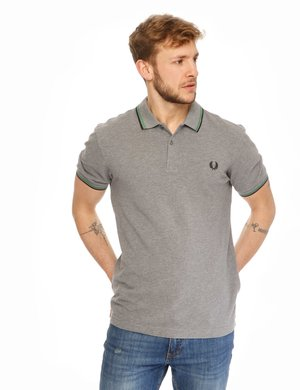 Polo Fred Perry con bordi a contrasto