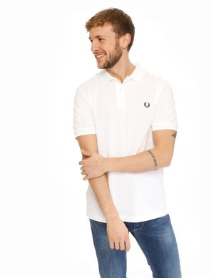 Polo Fred Perry con logo ricamato