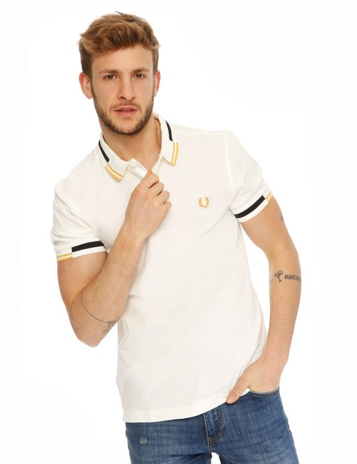 Polo Fred Perry in cotone - Bianco