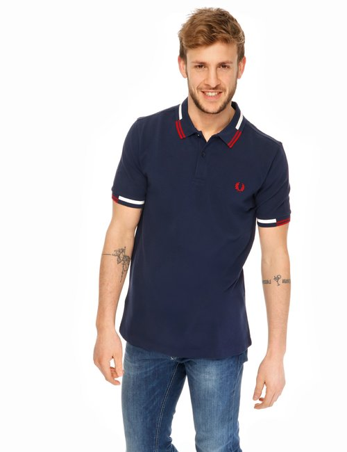 Polo Fred Perry in cotone - Blu