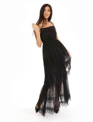 Vestito Fracomina con bordi merlettati