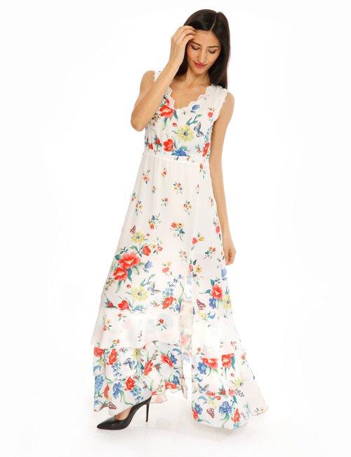 Vestito Fracomina a fiori - Bianco