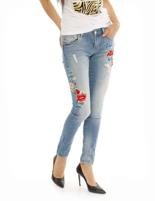 Jeans fracomina con ricami - Jeans