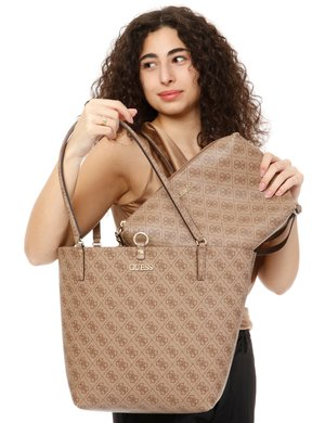 Borsa Guess logo all over