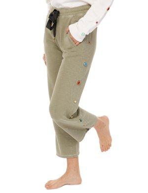 Pantalone  Imperfect con inserti colorati