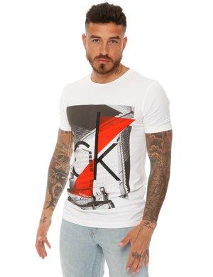 T-shirt Calvin Klein con logo stampato