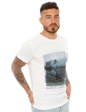 T-shirt Calvin Klein con stampa