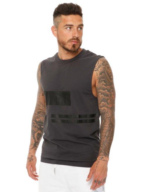 T-shirt Calvin Klein smanicata - Nero