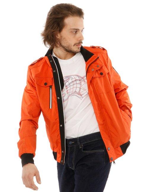 Giacca Yes zee con logo sulla manica - Arancione