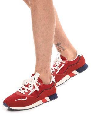 Sneaker U.S. Polo Assn. con logo