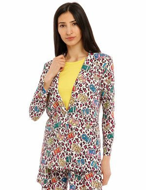 Blazer Vougue animalier colorato