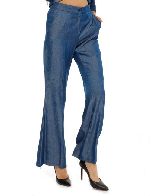 Pantalone Vougue effetto jeans - Blu