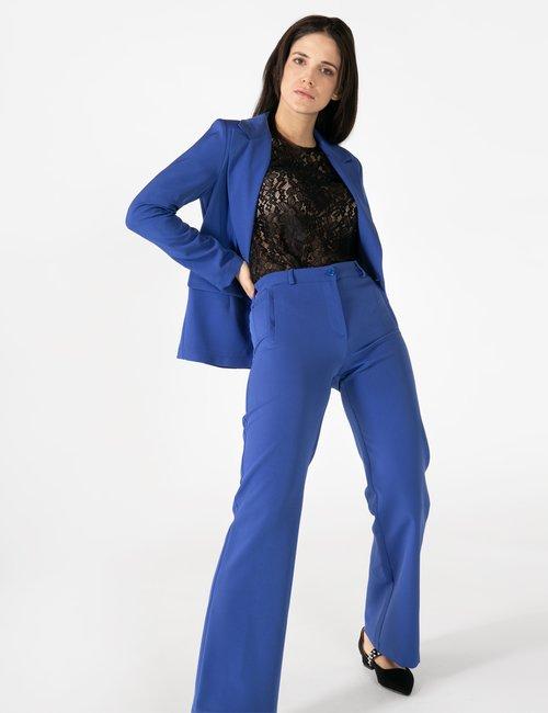 Pantalone Vougue con tasche finte - Blu