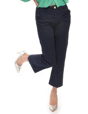 Pantalone Manila Grace con bottone decorato