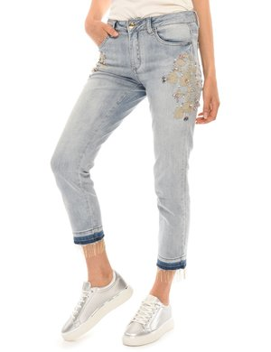 Jeans Yes Zee con ricami