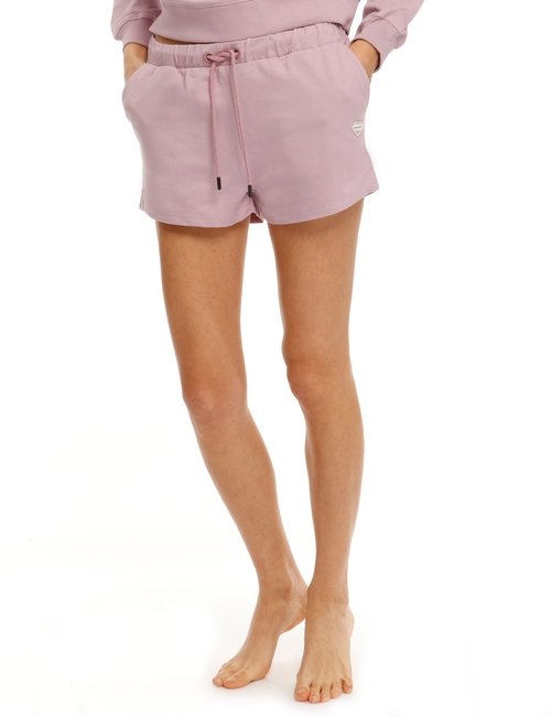 Shorts Smiling London con tasche - Rosa