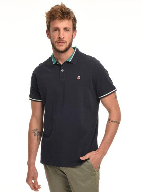 Polo Pepe Jeans con logo - Blu