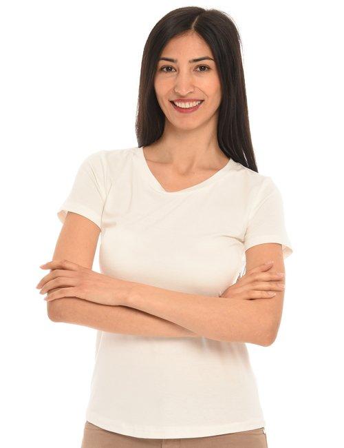 T-shirt Vougue basic - Bianco