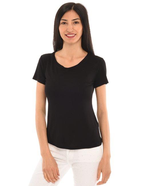 T-shirt Vougue basic - Nero