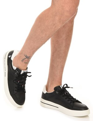 Sneaker U.S. Polo Assn. forata a lato