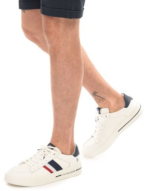 Sneaker U.S. Polo Assn. bandiera
