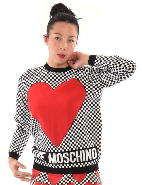 Maglia Love Moschino cuore - Fantasia