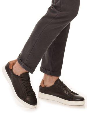 Sneaker Cafè Noir con dettaglio a contrasto