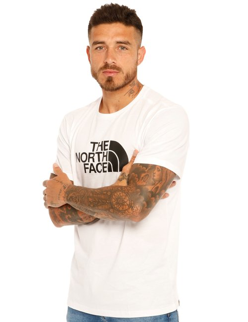 T-shirt The North Face con logo - Bianco